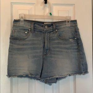 PINK brand denim shorts